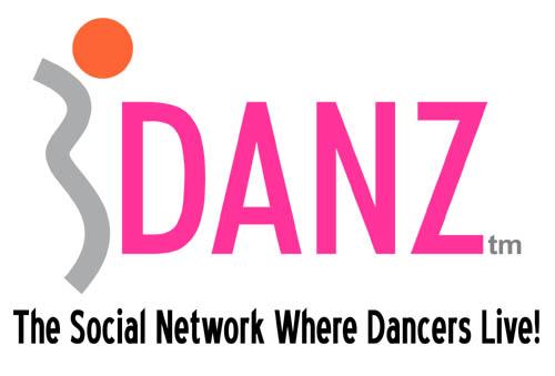 iDANZ Logo With Slogan Black letters white background jpeg
