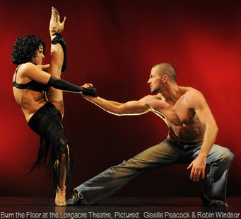 Burn the Floor at the Longacre Theatre, Pictured:  Giselle Peacock & Robin Windsor