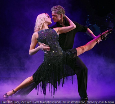 Burn the Floor, Pictured:  Peta Murgatroyd and Damian Whitewood, photo by Joan Marcus