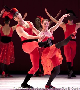 Paul Taylor Dance Company, Offenbach Overtures -Photo by Paul B. Goode