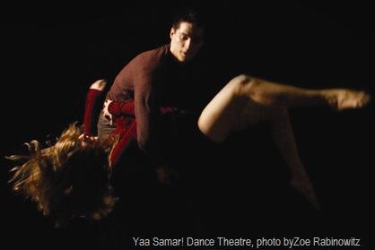 Yaa Samar! Dance Theatre, photo byZoe Rabinowitz