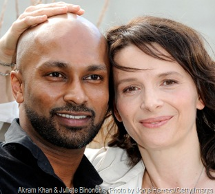 Akram Khan & Juliete Binonche, Photo by Jorge Herrera/Getty Images