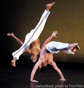Dance Brazil, photo by Tom Pitch