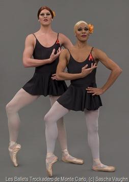 Les Ballets Trockadero de Monte Carlo, photo by Sascha Vaughn