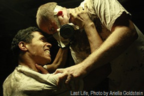 Last Life, Pictured Timothy Haskell and Taimak Guarriello. Photo by Ariella Goldstein