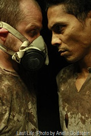 Last Life, Pictured Timothy Haskell and Taimak Guarriello, Photo by Ariella Goldstein