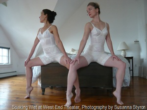 Soaking Wet at West End Theater, Photography by Susanna Styron