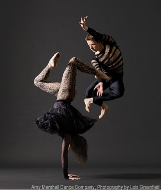 Amy Marshall Dance Company, Photography by Lois Greenfield -Chad Levy and Eileen Jaworowicz