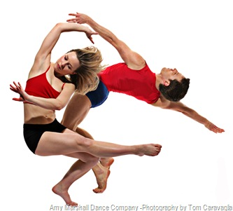 Amy Marshall Dance Company, Photo by Tom Caravaglia - Chad and Natasha